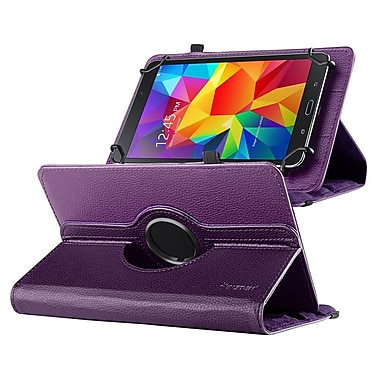 Insten 360 Degree Rotating Swivel PU Leather Flip Case Stand for Samsung Galaxy Tab 3 7