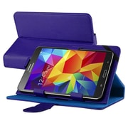 "Insten Leather Universal Stand Folio Protector Case Cover for 7"" Tablets, Navy Blue"
