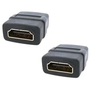 Insten HDMI to HDMI Coupler Female Connector Adapter, 2/Pack (1875313)