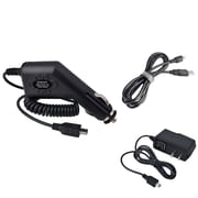 Insten® Car/AC Wall Travel Charger & USB Cable for Garmin Nuvi 310 370 755t 765T(217989)