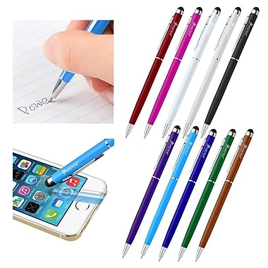 Insten 2-in-1 Stylus Ballpoint Touch Screen Pen For Apple iPad iPhone 6 6 And iPod Samsung Galaxy S6 S5 LG Cell Tablet (2097018)