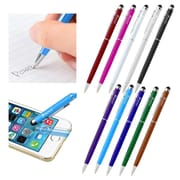 Insten 2-in-1 Stylus Ballpoint Touch Screen Pen for Apple iPad iPhone 6 6+ iPod Samsung Galaxy S6 S5 LG Cell Tablet