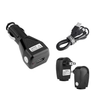 Insten Car / AC Home Travel Wall Charger + Micro USB Cable for Samsung Galaxy Core Prime/Ace Style S765C/Centura S738C