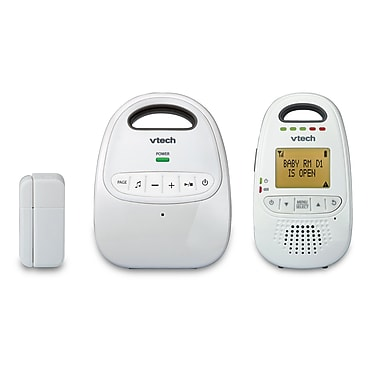 Vtech - Moniteur audio numérique DM251-102 Safe & Sound avec capteur ouvert/fermé