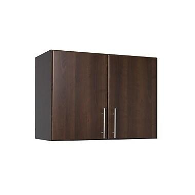 """Prepac Elite 32"""" Stackable Wall Cabinet, Espresso, (EEW-3224)"""