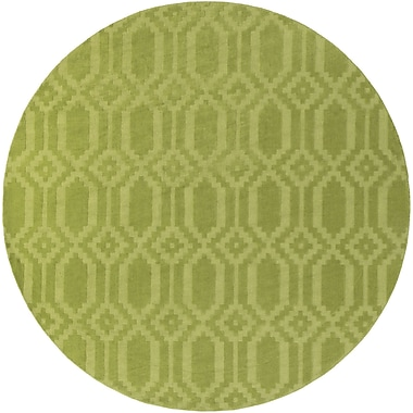 Artistic Weavers Metro Scout Hand-Loomed Green Area Rug; Round 9'9''