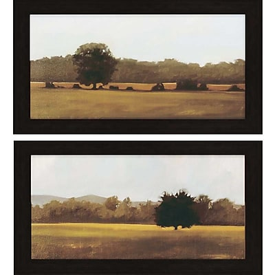 Paragon Resting and Silent by Lightell Framed Painting Print Set (Set of 2)