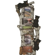 River's Edge Products 5 Photo Bear Birch Tree Picture Frame