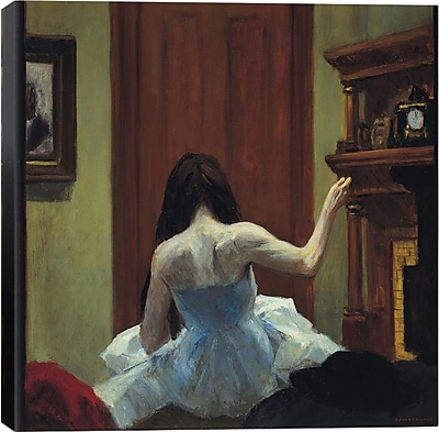 iCanvas ''New York Interior'' by Edward Hopper Painting Print on Canvas; 37'' H x 37'' W x 1.5'' D