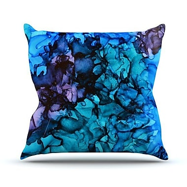 KESS InHouse Lucid Dream Outdoor Throw Pillow; 26'' H x 26'' W x 4'' D