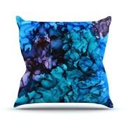 KESS InHouse Lucid Dream Outdoor Throw Pillow; 20'' H x 20'' W x 4'' D