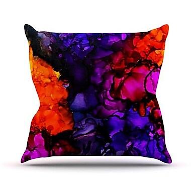 KESS InHouse Family Photos Indoor/Outdoor Throw Pillow; 16'' H x 16'' W x 3'' D
