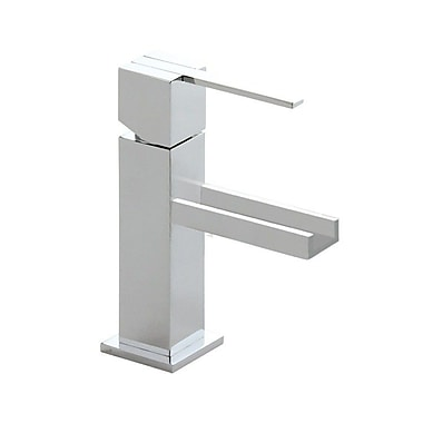 Roman Soler by Nameeks Kuatro Deck Mount Bathroom Sink Faucet