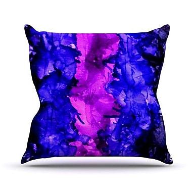 KESS InHouse Drops Outdoor Throw Pillow; 16'' H x 16'' W x 3'' D
