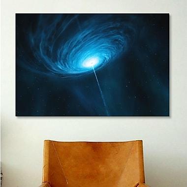 iCanvas Distant Galaxy Quasar 3C 279 Graphic Art on Canvas; 18'' H x 26'' W x 1.5'' D