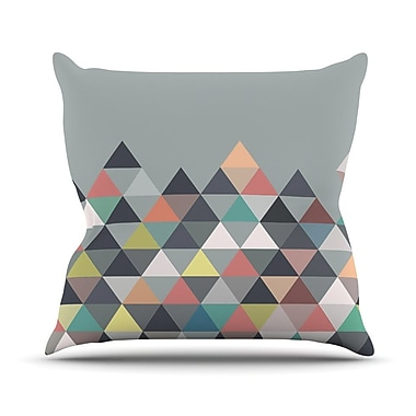 KESS InHouse Nordic Combination Abstract Outdoor Throw Pillow; 20'' H x 20'' W x 4'' D