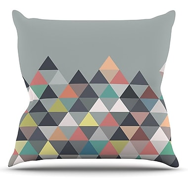 KESS InHouse Nordic Combination Abstract Outdoor Throw Pillow; 18'' H x 18'' W x 3'' D
