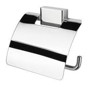 Geesa by Nameeks BloQ Wall Mounted Toilet Paper Holder w/ Cover