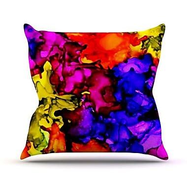 KESS InHouse Chica Outdoor Throw Pillow; 18'' H x 18'' W x 3'' D