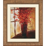 Paragon Vase of Flowers by Stewart Framed Painting Print