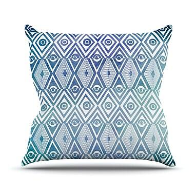 KESS InHouse Tribal Empire Outdoor Throw Pillow; 16'' H x 16'' W x 3'' D