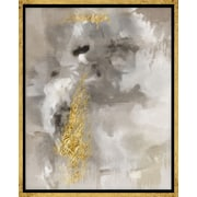 PTM Images Touch of Gold I Graphic Art on Wrapped Canvas