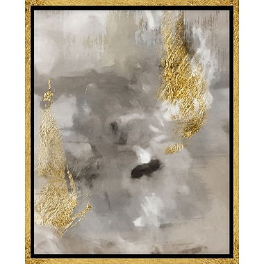 PTM Images Touch of Gold II Graphic Art on Wrapped Canvas