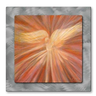 All My Walls 'Holy Spirit Appearing as a Dove' by Kip Decker Painting Print Plaque