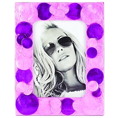 NielsenBainbridge Terragraphics Sorbet Picture Frame; Purple