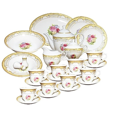 Imperial Gift Co. 49 Piece Dinnerware Set, Service for 8