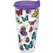 Tervis Tumbler Garden Party Butterflies Tumbler w/ Lid; 24 oz.