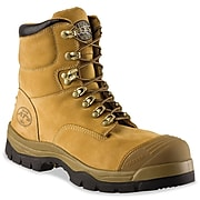 Oliver by Honeywell Leather Work Boots, Tan, Size 7