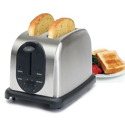 Elite 2 Slice Toaster; Silver (KM200X)