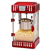 "Elite 1-Gal 20"" Kettle Popcorn Maker, Red (KM250)"