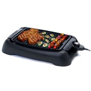 "Elite 13"" Gourmet Countertop Electric Grill; Black (KM3450)"