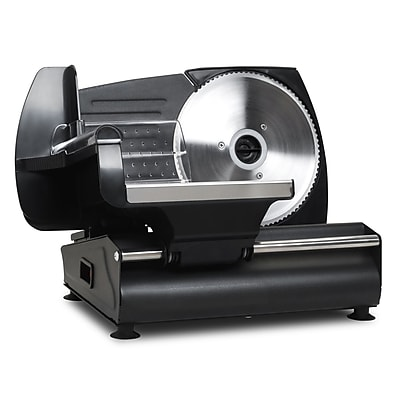 Elite Electric Food Slicer; Black (KM503B)
