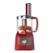 Elite Compact BPA-Free 3-Cup Food Processor, Red (KM7719R)