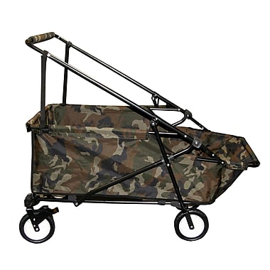 Impact Canopies Momentum Collapsible Wagon Utility Beach Cart, Camo