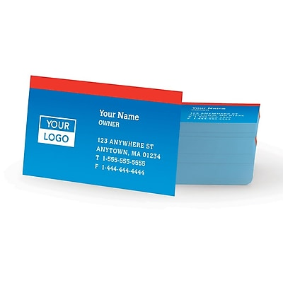 same day business card Staples