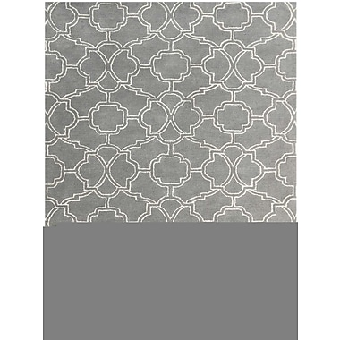 AMER Rugs City Hand-Tufted Sea Blue Area Rug; Rectangle 7'6'' x 9'6''