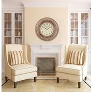Cooper Classics Oversized 37'' Mackenzie Wall Clock