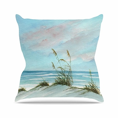 KESS InHouse Sea Oats Outdoor Throw Pillow; 26'' H x 26'' W x 4'' D