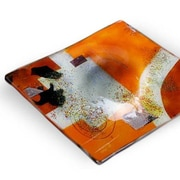 JasmineArtGlass Square Decorative Platter