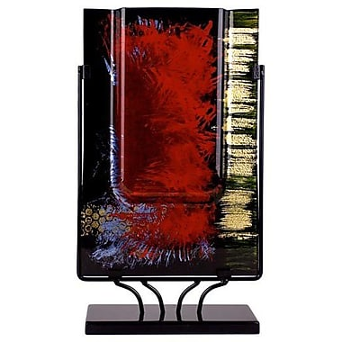 JasmineArtGlass Rectangular Vase