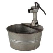 American Mercantile Metal Pot Planter