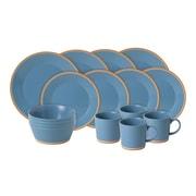 Royal Doulton Colours 16 Piece Dinnerware Set; Blue