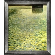 Tori Home Island in Lake Atter, Around 1901 by Gustav Klimt Framed Painting