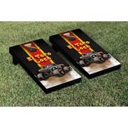 Victory Tailgate Monster Jam El Toro Loco Vintage Version Cornhole Game Set; Black