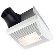 Broan InVent Single-Speed 110 CFM Bathroom Fan w/ Light