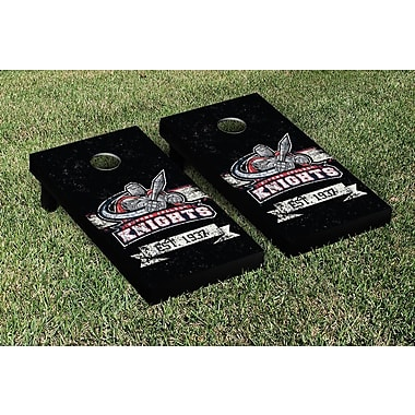 Victory Tailgate NCAA Banner Version Cornhole Game Set; Queens College QC Knights